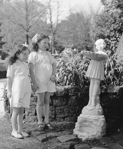 Dr John Wilson OBE erected small statues in the grounds to amuse the children.