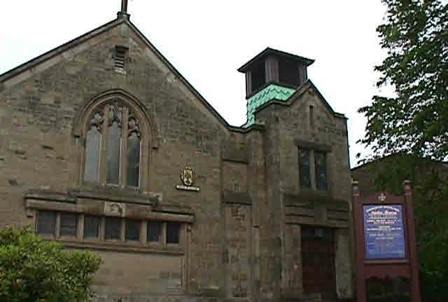Newton Mearns Parish Church on Ayr Road.