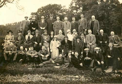 Members of Mearns Agricultural Society in the 1930s