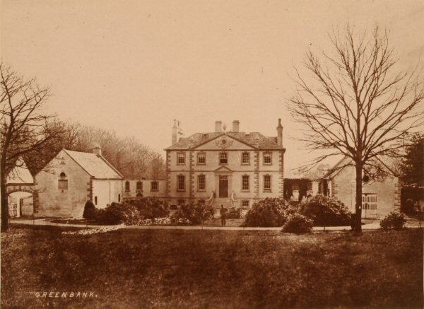 Greenbank House photographed by Thomas Annan in the second half of the 19th Century