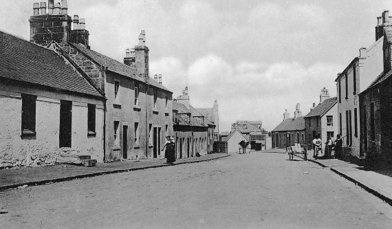 The thatched cottages pre 1900