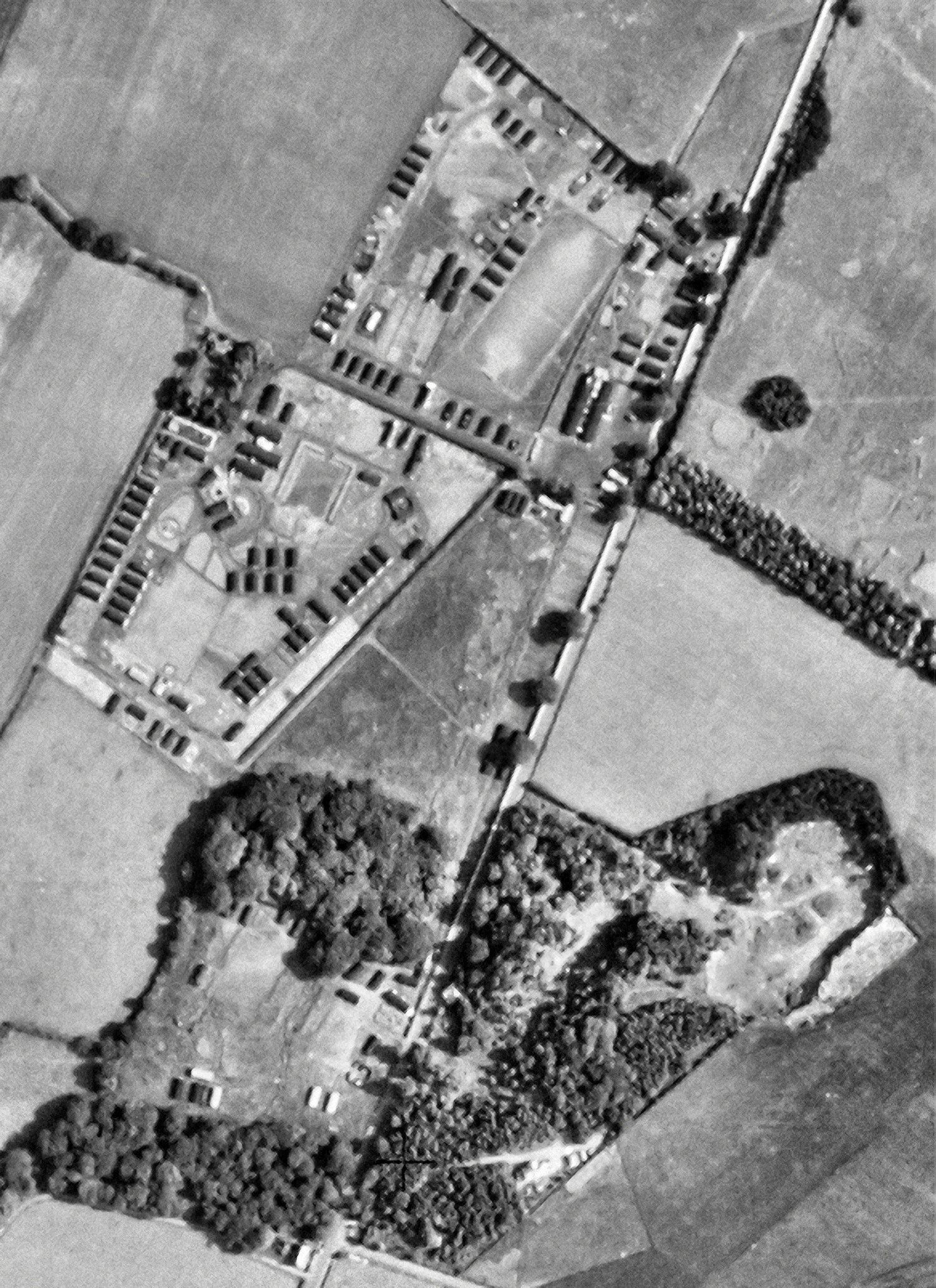 Aerial Photograph of Patterton taken November 1946