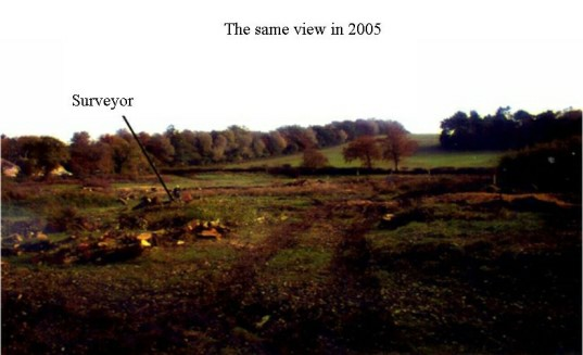 Site of the camp in 2005