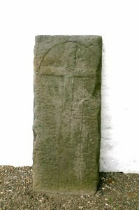 The Templar Stone at Mearns Kirk