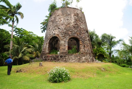 The Windmill on Conference Plantation Grenada